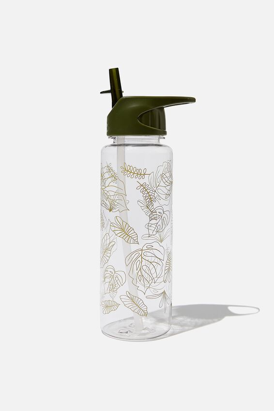 Hydrator Drink Bottle, LINE FOLIAGE