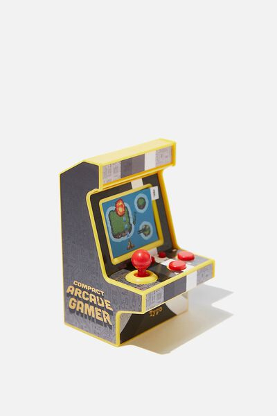 Compact Arcade Game, RETRO BLACK