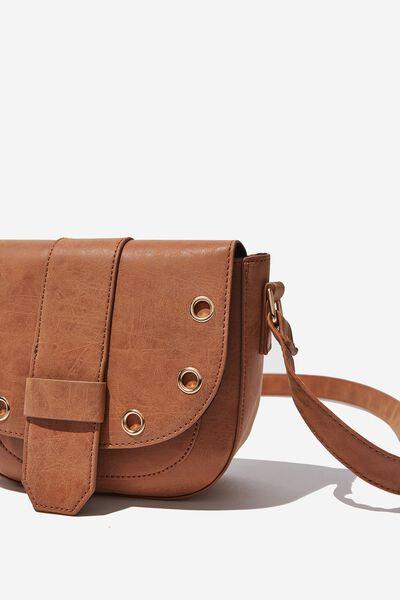 Saddle Bag, MID TAN