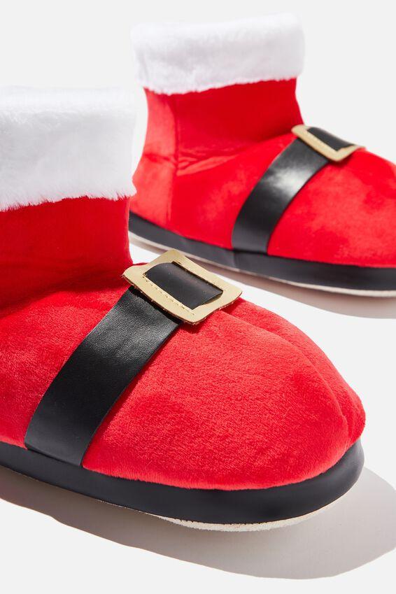 Oversized Slippers, SANTA BOOT