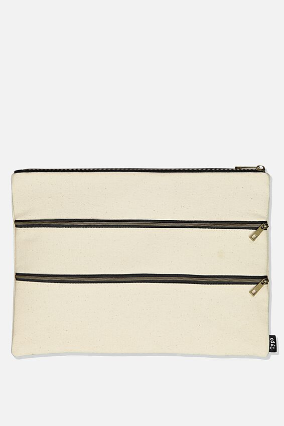 Keep It Together Pencil Case, CANVAS