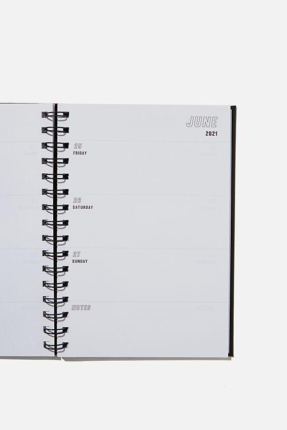 2021 A6 Rick & Morty Spiral Diary, LCN RICK & MORTY CNW RM