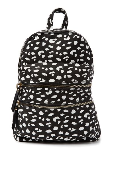 Berlin Backpack, LEOPARD PRINT