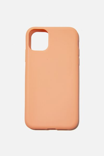 Recycled Phone Case iPhone 11, PEACH CANDY