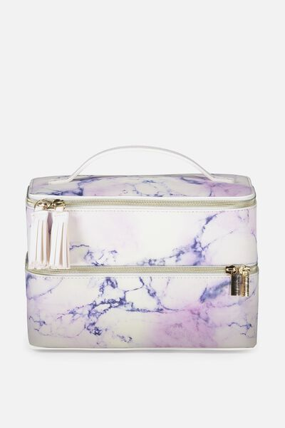 St Tropez Beauty Case, LUSH MARBLE