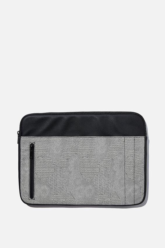 Take Charge 15 Inch Laptop Cover, SPLICE LINES