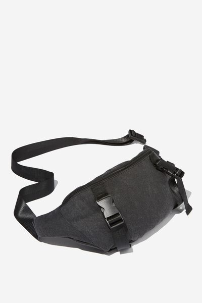 Bum Bag, BLACK CANVAS