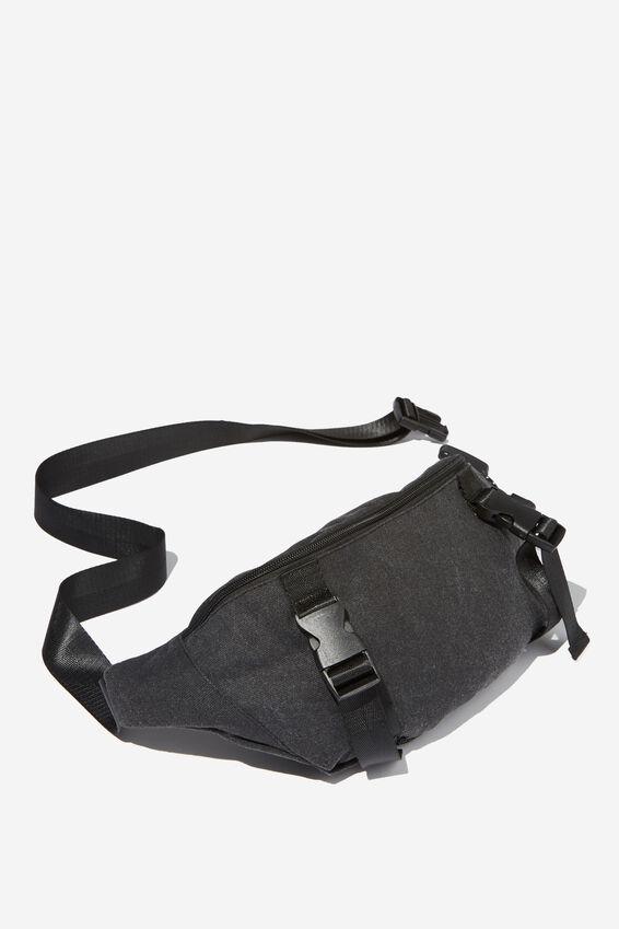 Bum Bag, BLACK CANVAS