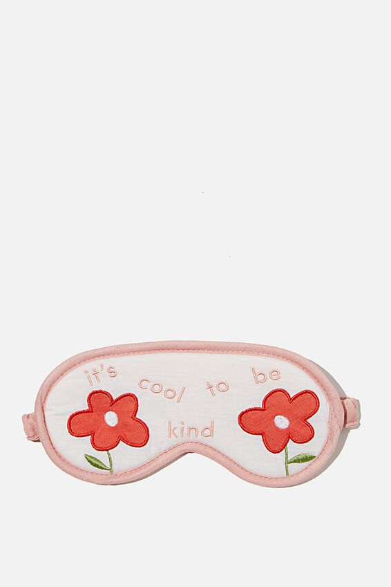 Premium Sleep Eye Mask, COOL TO BE KIND