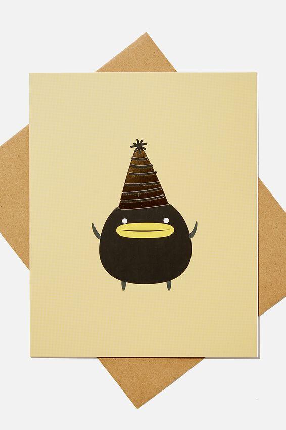 Nice Birthday Card, LCN IRV IRVINS PARTY HAT