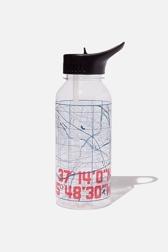 Drink It Up Bottle, COORDINATE MAP