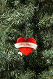 Resin Christmas Ornament, ANTI-SOCIAL HEART