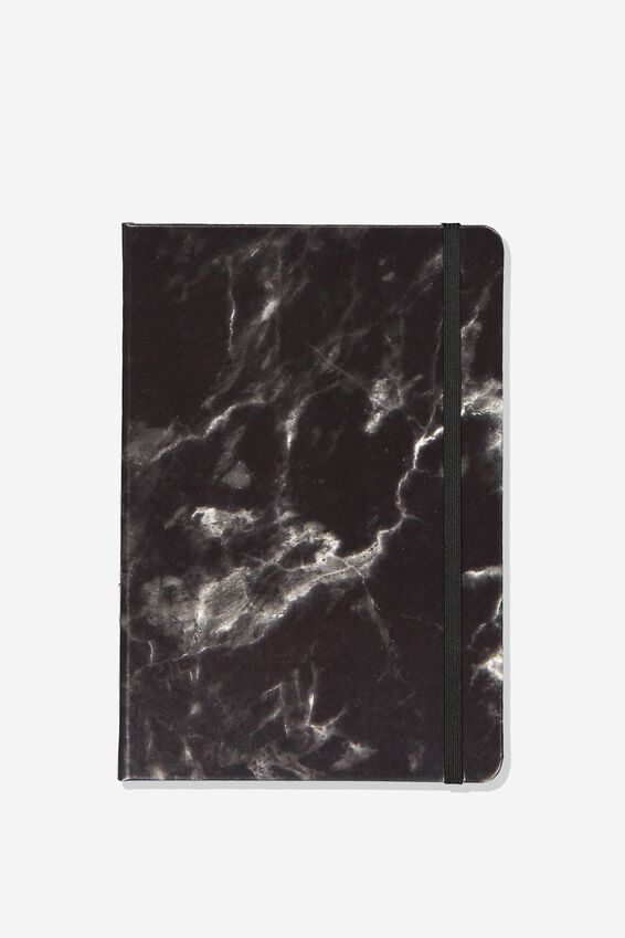 A5 Buffalo Journal, BLACK MARBLE