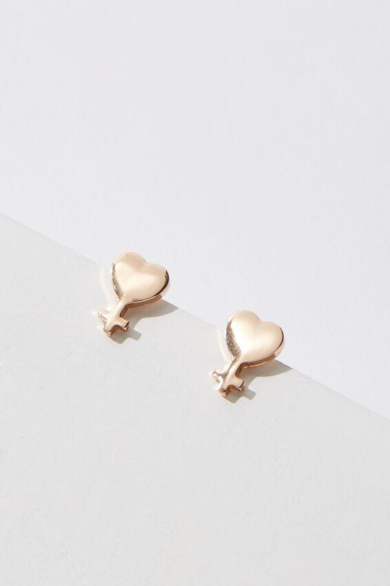 Novelty Earrings, SISTER
