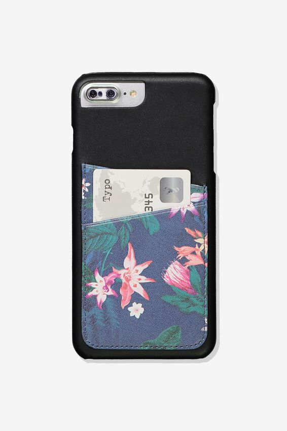 The Cardholder Phone Cover 6,7,8 Plus, JUNGLE FLORAL
