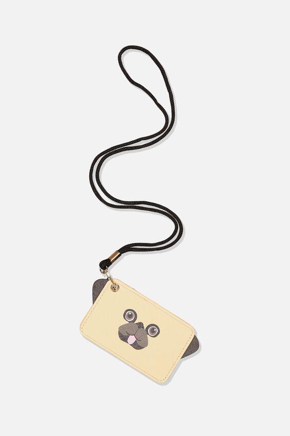 Novelty Cardholder, PUG