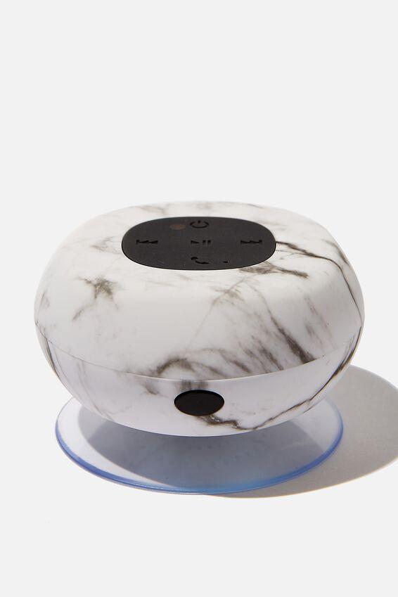 Wireless Shower Speaker, MARBLE 2.0