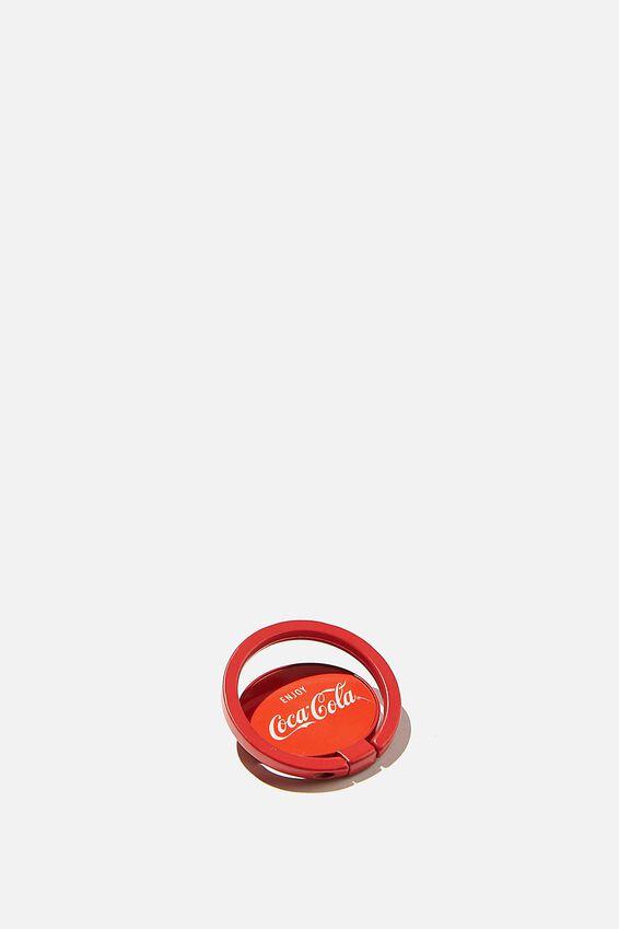 Coca Cola Metal Phone Ring, LCN COK COCA COLA