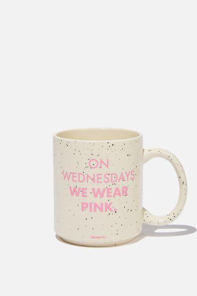 Daily Mug, LCN PAR MG WEDNESDAYS PINK