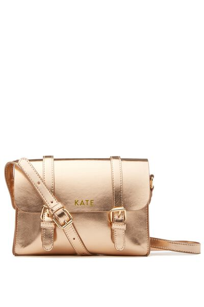 Mini Harry Bag Personalisation, ROSE GOLD