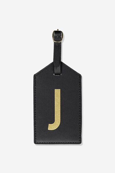 Alpha Luggage Tag, J