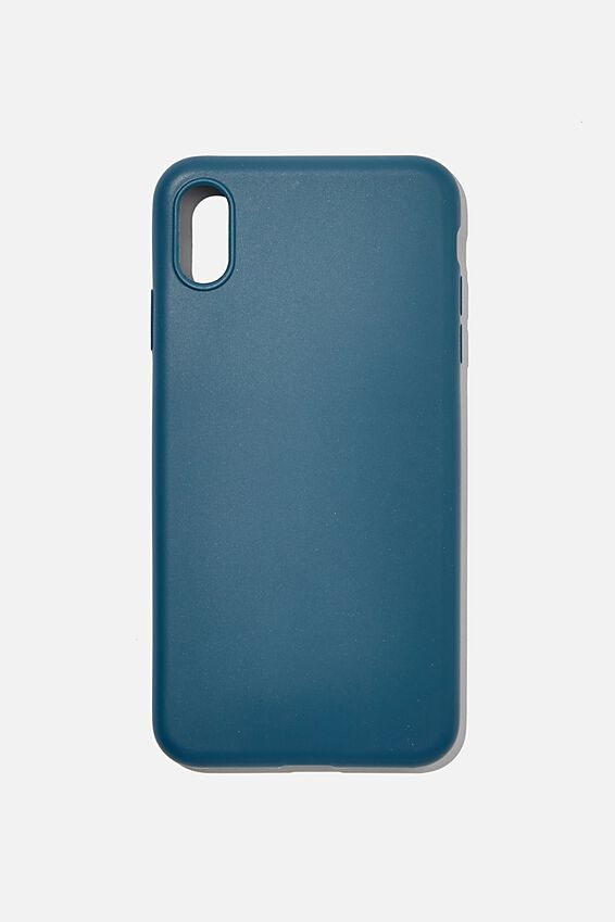 Slimline Recycled Phone Case Iphone Xs Max, DEEP TEAL
