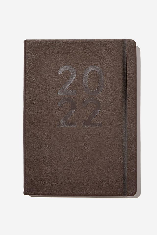 2022 A4 Daily Buffalo Diary, BITTER CHOC