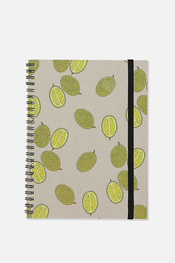 A5 Spinout Notebook Recycled, DURIAN