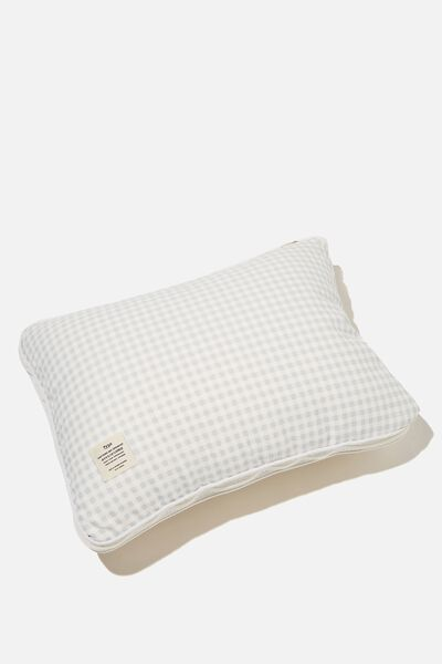 Convertible Cushion Throw, HYACINTH GINGHAM
