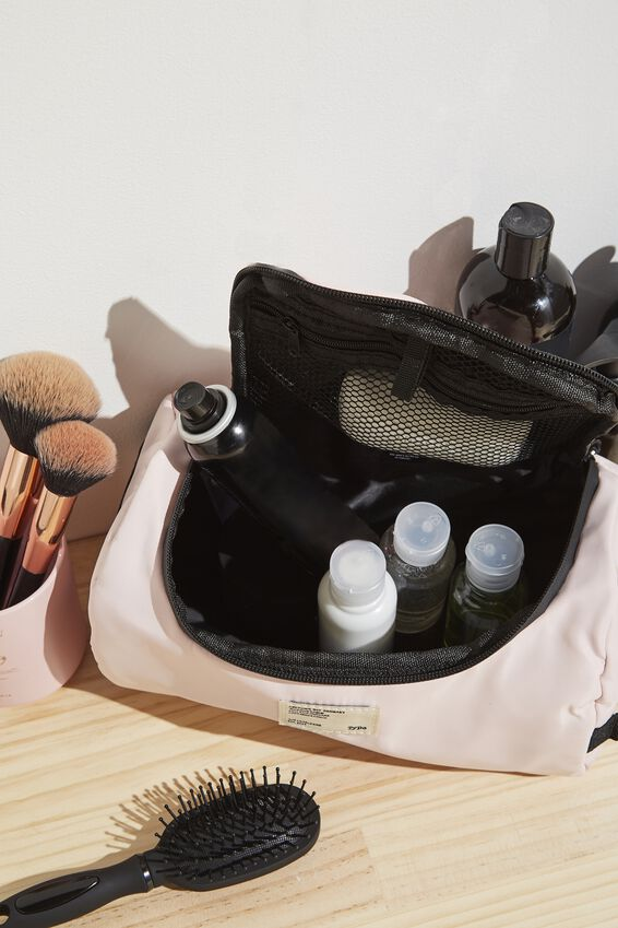 Explorer Carry Case, PALE PINK AND BLACK