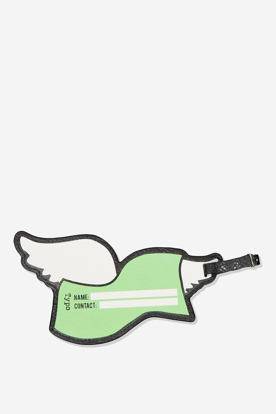Shape Shifter Luggage Tag, FLYING CASH