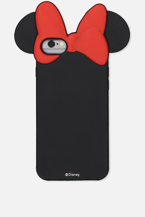 Shaped Silicone Phone Cover Universal 6,7,8, LCN MINNIE EARS