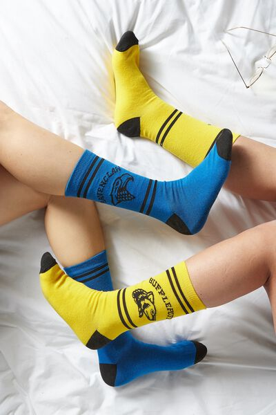 Mens Novelty Socks, LCN WB RAVENCLAW HOUSE
