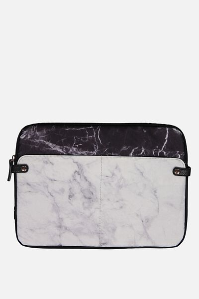 Varsity Laptop Case 15 Inch, MARBLE