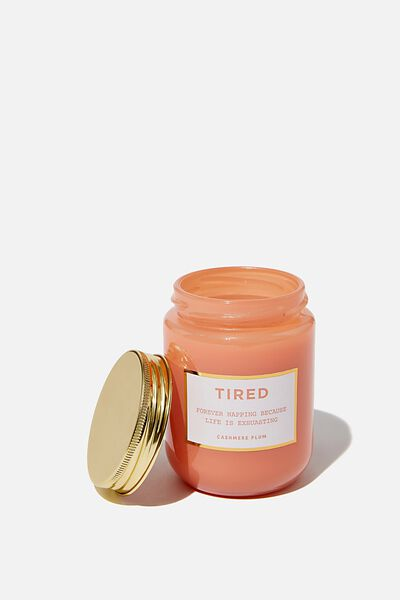 Mood Candle, TIRED