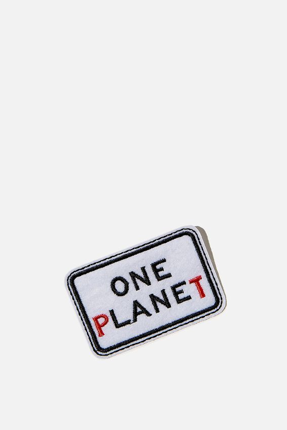 Fabric Badge, ONE PLANET