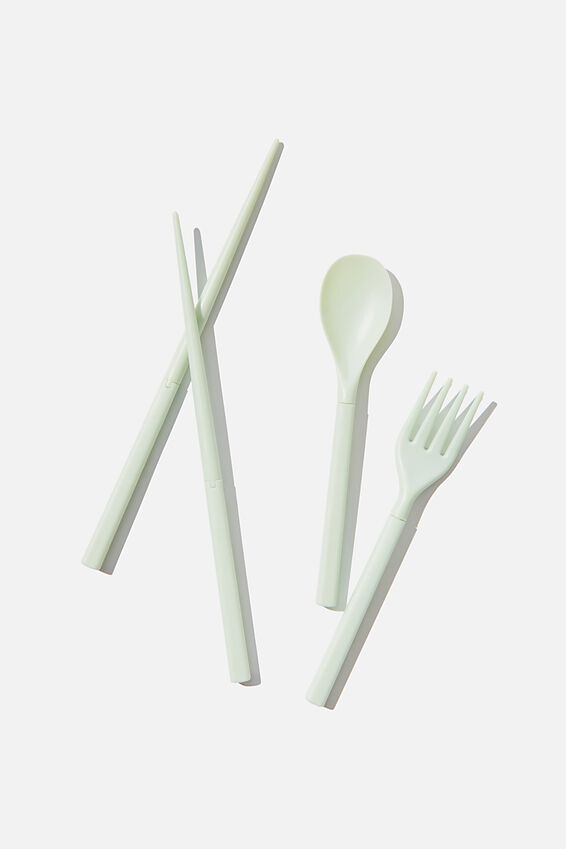 Lunch Cutlery Sets, TALENTS INCLUDE EATING