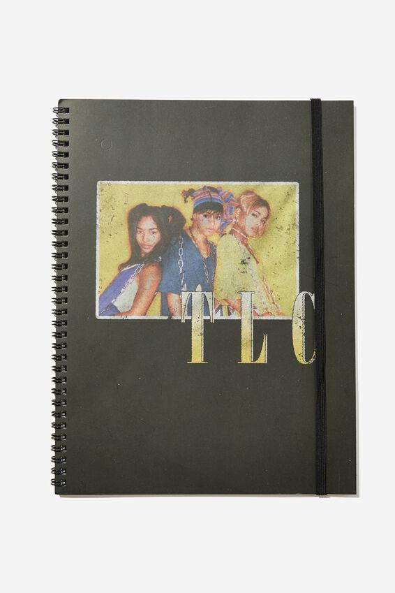College Ruled Spinout Notebook V, LCN MT TLC POSTER
