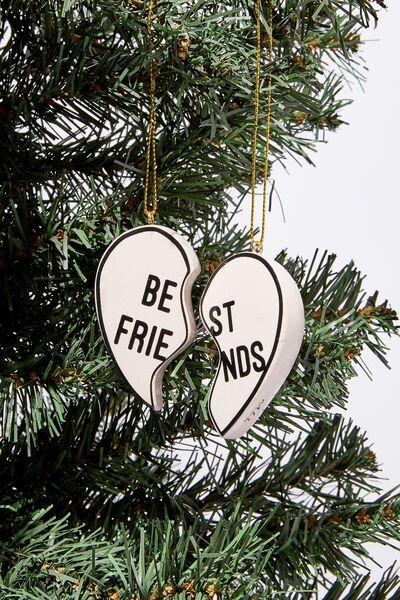 Christmas Ornament, BEST FRIENDS DUO