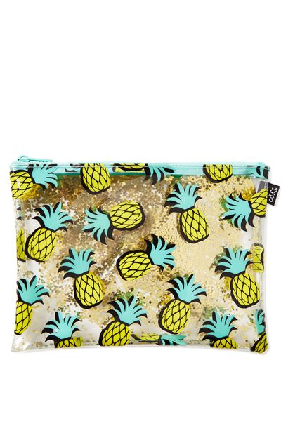 Panama Travel Case, PINEAPPLES