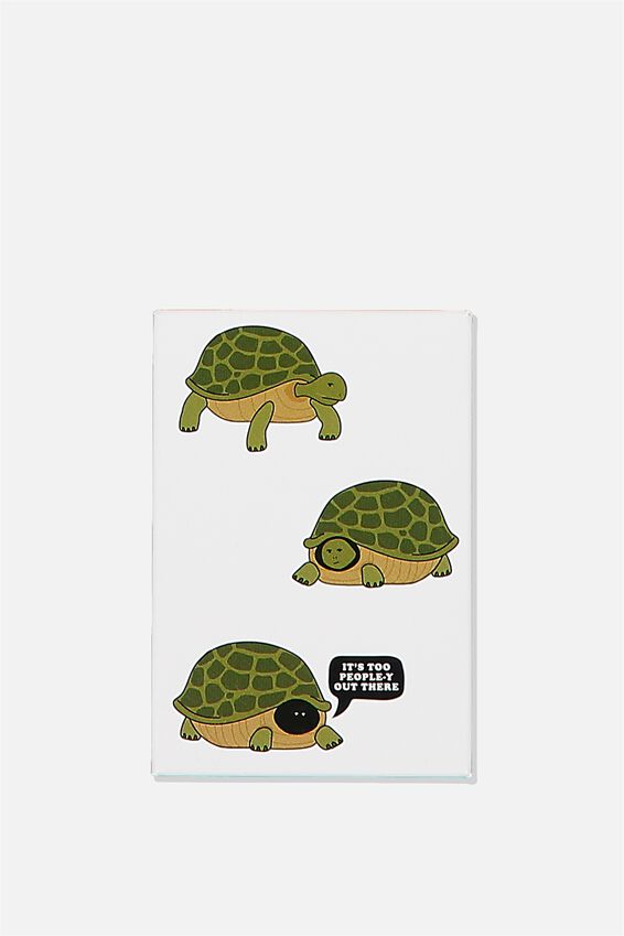 Quirky Magnets, TURTLE HIDING