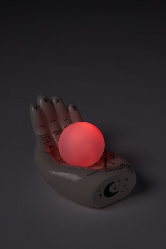 Mini Ceramic Novelty Light, PALM