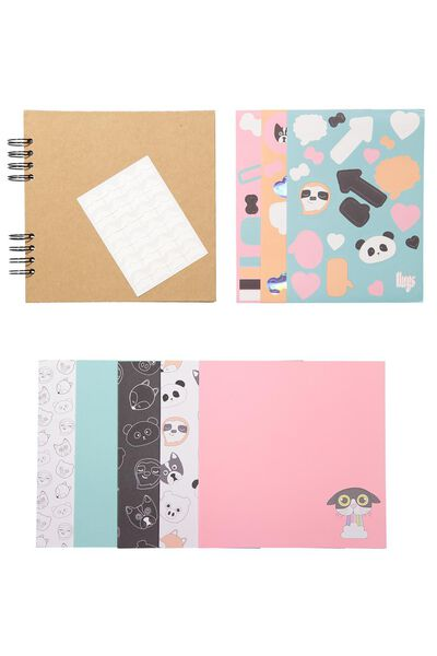 Diy Album Kit 8X8, CUTE CHARACTERS