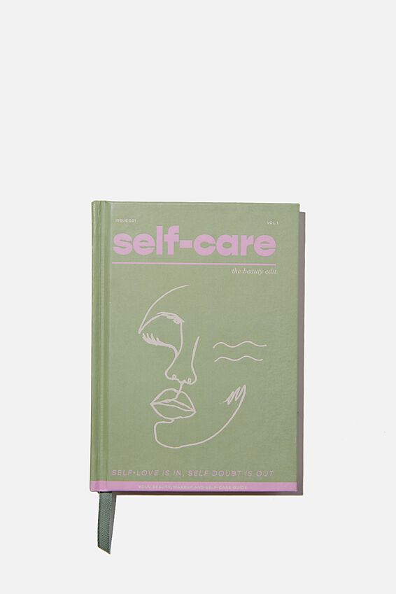 A6 Activity Journal, SELF CARE