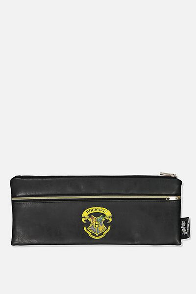 Patti Pencil Case, LCN WB HPO BLACK HOGWARTS CREST