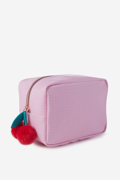 Essential Cosmetic Bag, PINK CHERRIES