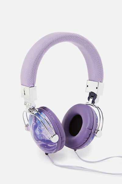 Tune Out Headphones, MERMAID MARBLE