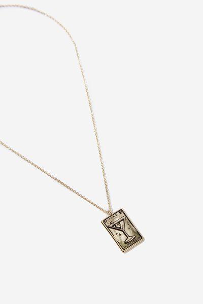 Novelty Necklace, TAROT CARD