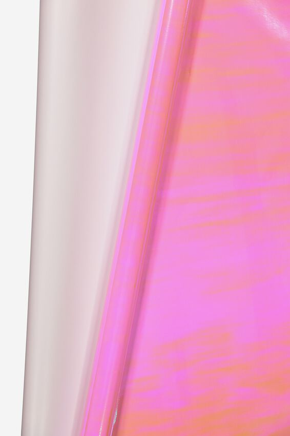 Roll Wrapping Paper, PINK IRIDESCENT