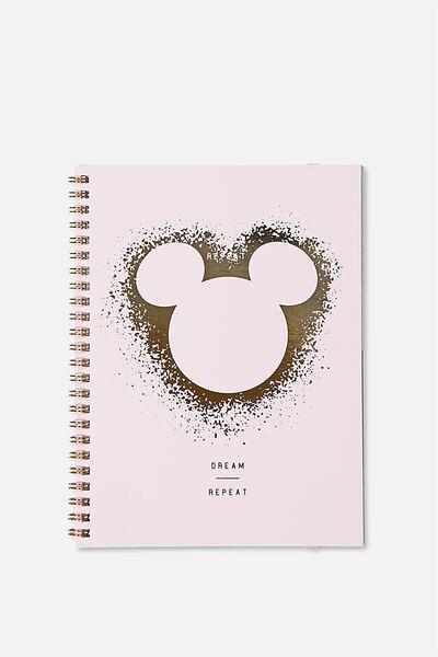 Small Spinout Notebook Usa 8X6, LCN MICKEY FOIL SPRAY HEAD